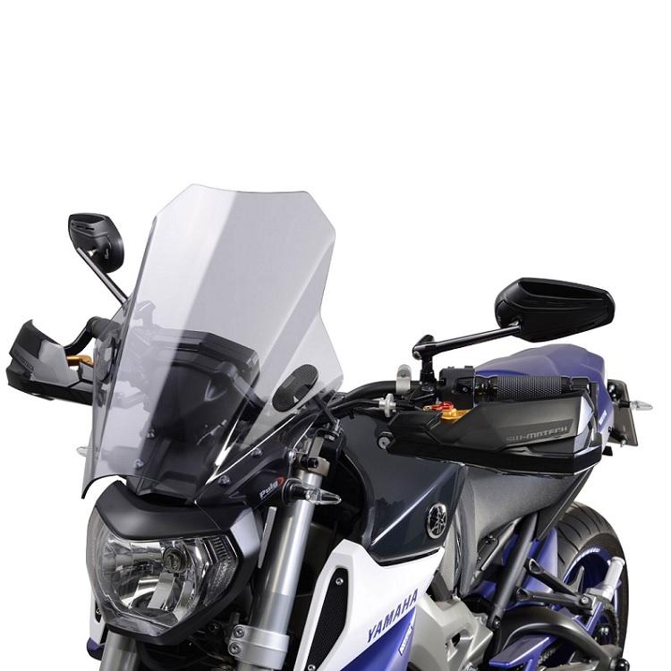 Ветровое стекло Puig naked bike тонированное, арт: 10081 - Стекла