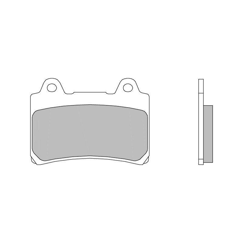 Тормозные колодки Brembo 07YA3507 Road Carbon Ceramic, арт: 10194 - Тормозная система