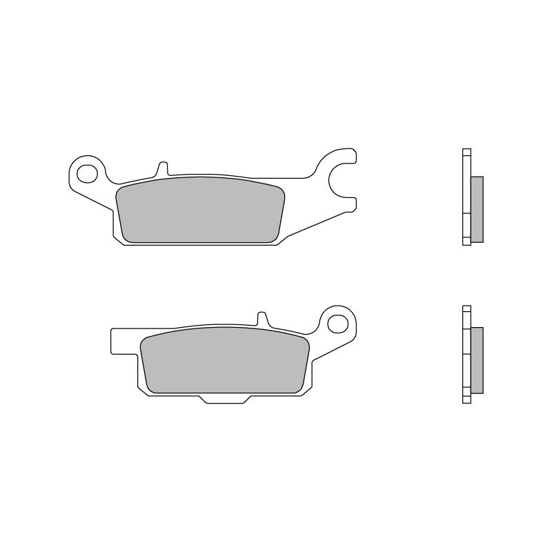 Тормозные колодки Brembo 07YA49SD Off Road, арт: 10196 - Тормозная система