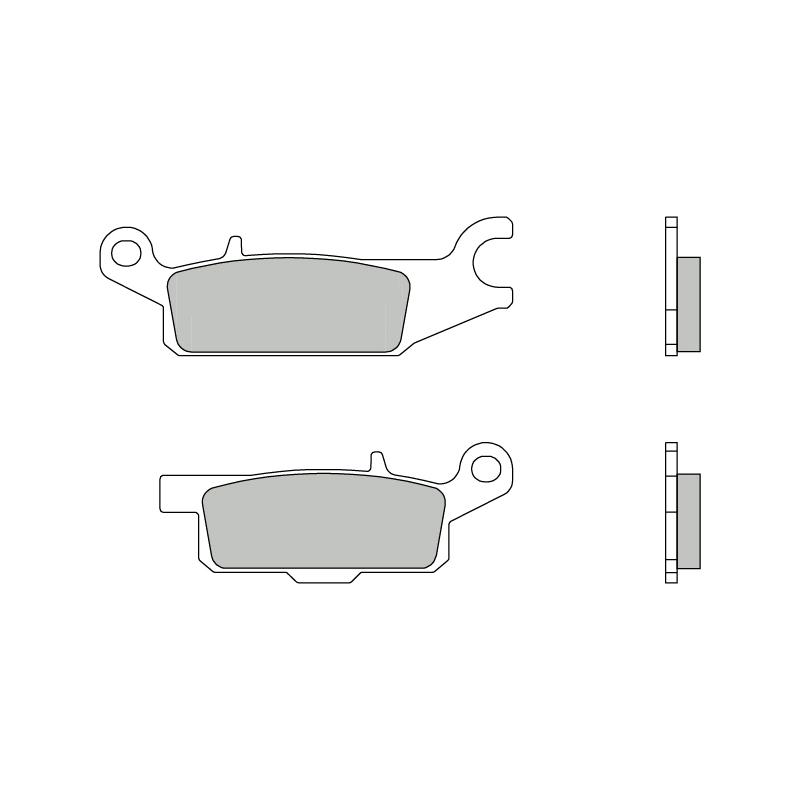 Тормозные колодки Brembo 07YA51SD Off Road, арт: 10198 - Тормозная система