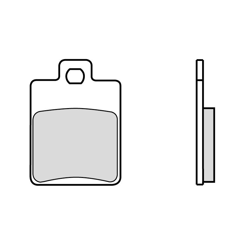 Тормозные колодки Brembo 7019 Scooter Carbon Ceramic, арт: 10199 - Тормозная система
