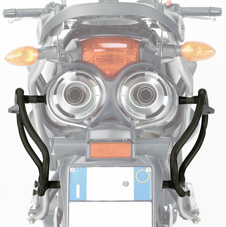 Крепление боковых кофров Givi V35 и Kappa k33n к мотоциклу Honda VFR800 02-11 MONOKEY®, арт: 10379 - Системы крепления и площадки для кофров