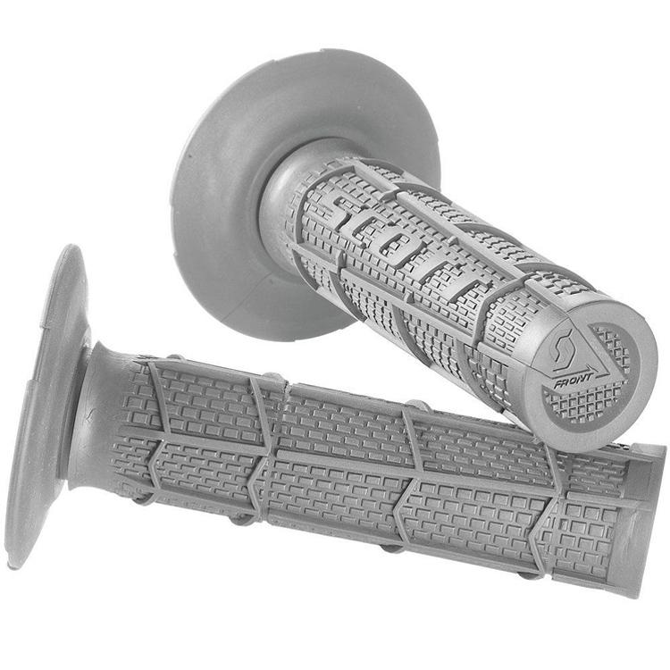 Грипсы 22 мм Scott полурифленые, серые, арт: 10438 - Ручки и грипсы