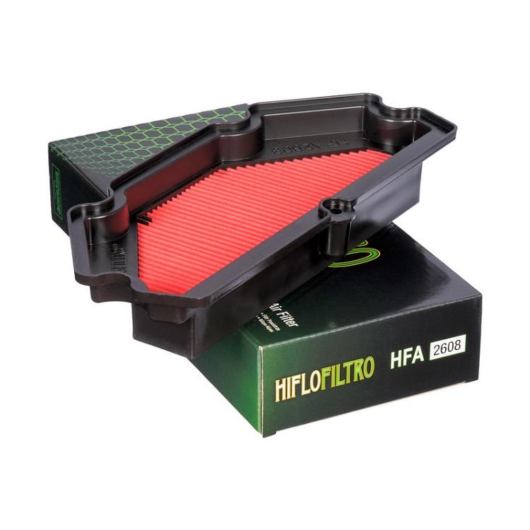 Фильтр воздушный HiFlo HFA2608 Kawasaki ER-6 13-15', арт: 10441 - Фильтры для мотоциклов Kawasaki