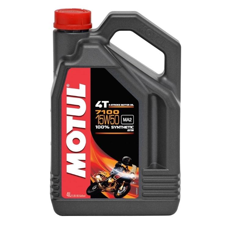 Масло моторное Motul 7100 4T 15W50 4л., арт: 10482 - Моторные масла 2Т 4T