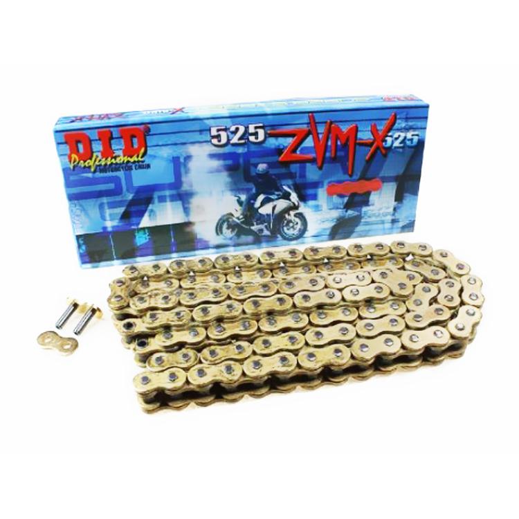 Цепь DID 525-112 ZVM-X Gold Gold X-ring ZJ, арт: 10529 - Цепи #525#