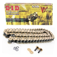 Цепь DID 530-118 VX Pro-Street X-Ring Gold&Black ZJ