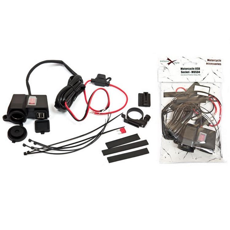 Прикуриватель с USB разъемом и выключателем, арт: 10547 - Прикуриватели