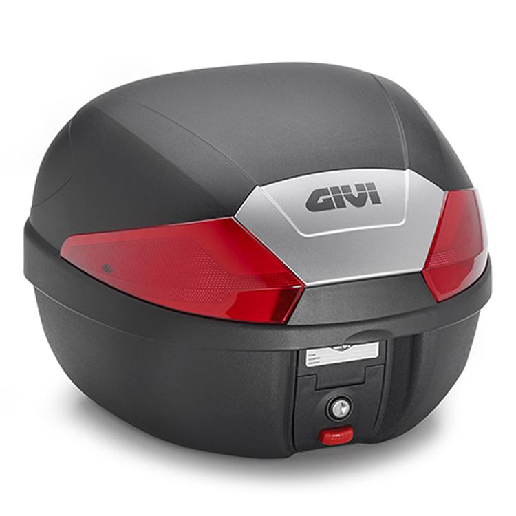 Кофр центральный (верхний) Givi B29N Monolock® 29л черный, арт: 10590 - Кофры пластиковые/алюминиевые