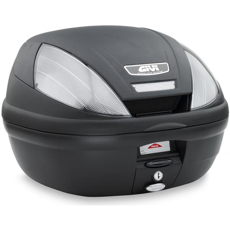 Кофр центральный(верхний) Givi 39л Tech Monolock® черный, арт: 10591 - Кофры пластиковые/алюминиевые