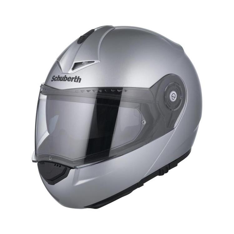 Шлем Schuberth C3 Pro, серебрянный, арт: 10617 - Шлем модуляр
