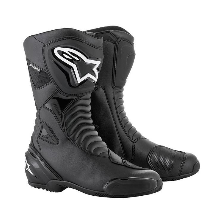 Мотоботы Alpinestars Boot SMX-S black, арт: 10632 - Мотоботы