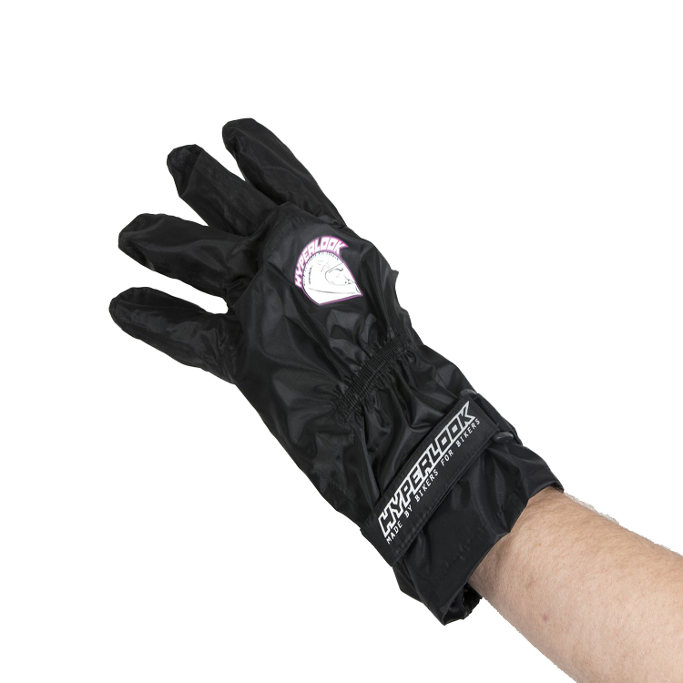 Дождевые перчатки Hyperlook element черные р.M, арт: 10640 - Дождевики