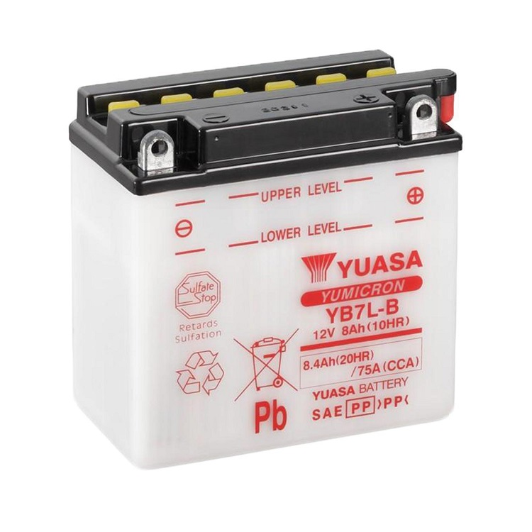 Аккумулятор Yuasa YB7L-B, арт: 10674 - Аккумуляторы Yuasa