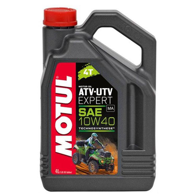 Масло моторное Motul ATV-UTV Expert 10W40 4л., арт: 10727 - Моторные масла 2Т 4T