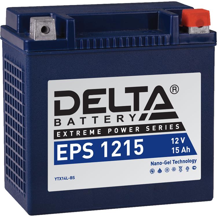 Аккумулятор Delta EPS 1215 12V/15А/ч, арт: 10745 - Аккумуляторы Delta