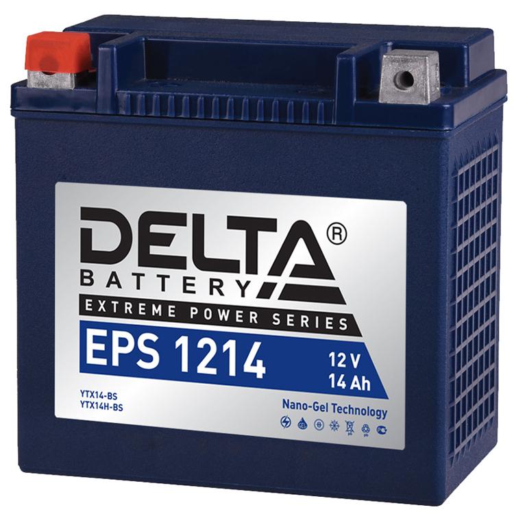 Аккумулятор Delta EPS 1214 12V/14А/ч, арт: 10746 - Аккумуляторы Delta