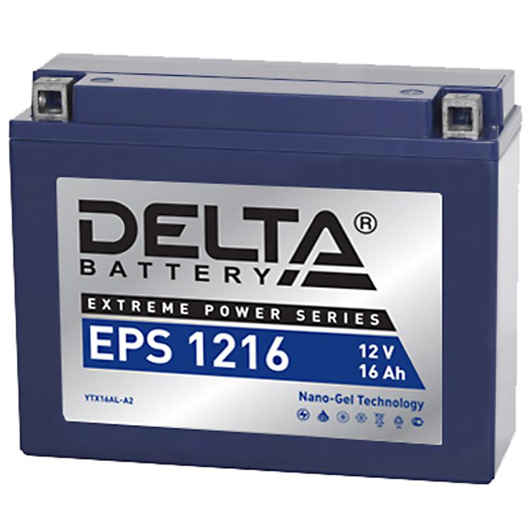 Аккумулятор Delta EPS 1216 12V/16А/ч, арт: 10747 - Аккумуляторы Delta