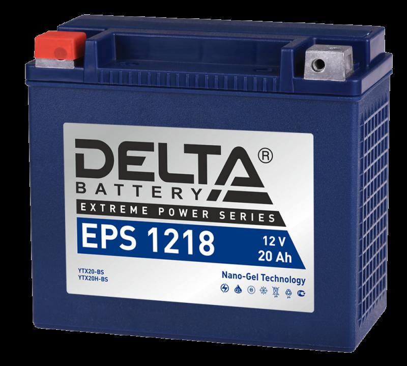 Аккумулятор Delta EPS 1218 12V/18А/ч, арт: 10748 - Аккумуляторы Delta