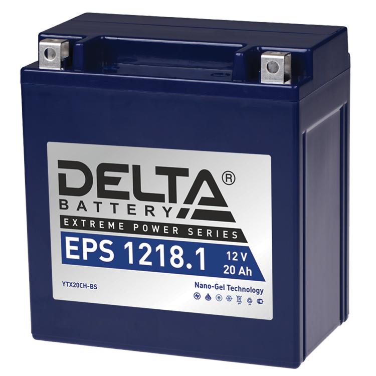 Аккумулятор Delta EPS 1218.1 12V/18А/ч, арт: 10749 - Аккумуляторы Delta