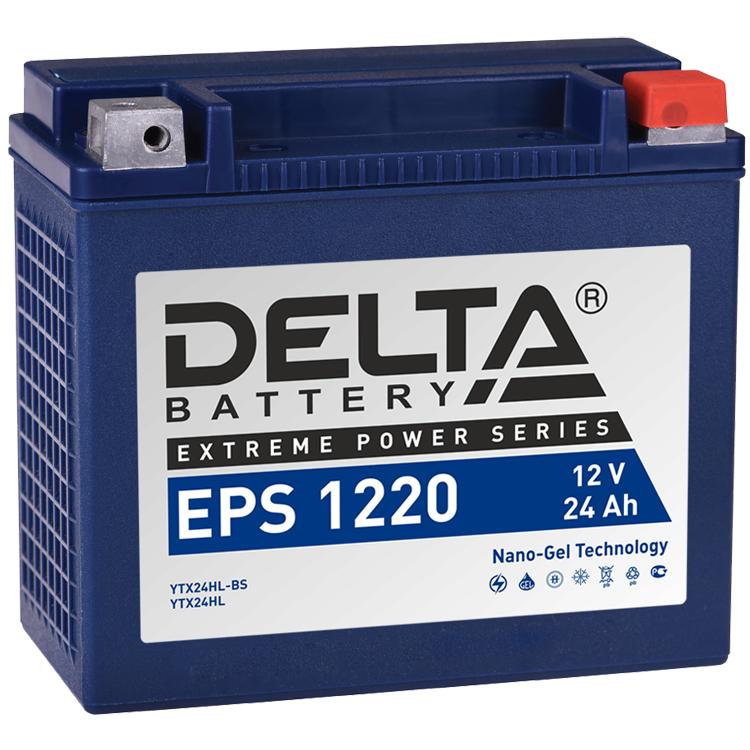 Аккумулятор Delta EPS 1220 12V/24А/ч, арт: 10750 - Аккумуляторы Delta