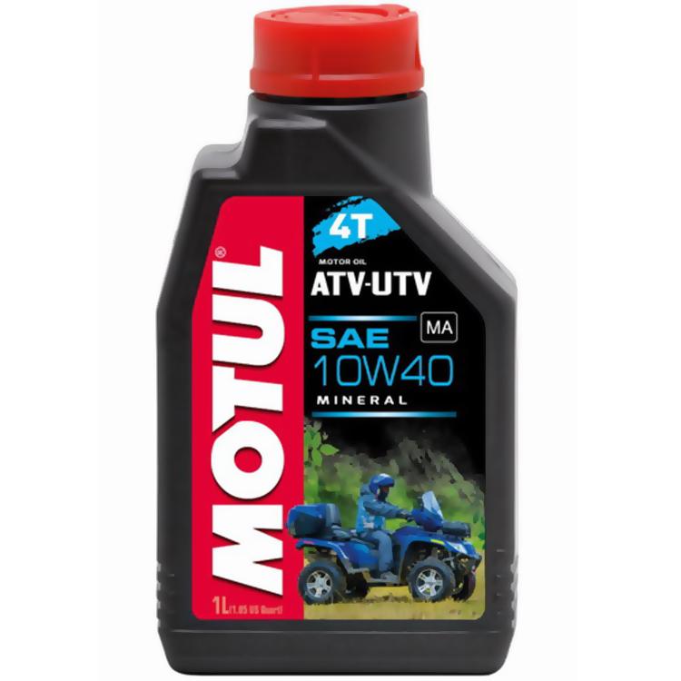 Масло моторное Motul ATV-UTV 4T 10W40 1л., арт: 10755 - Моторные масла 2Т 4T