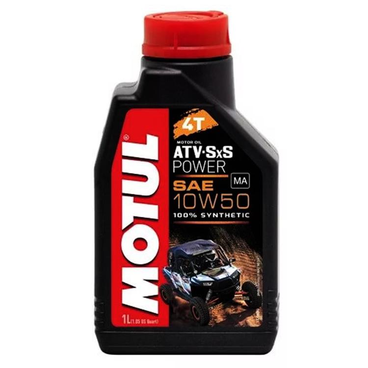 Масло моторное Motul ATV-SXS POWER 4Т 10W-50 1л., арт: 10761 - Моторные масла 2Т 4T