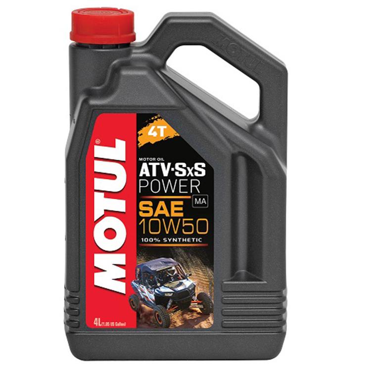 Масло моторное Motul ATV-SXS POWER 4Т 10W-50 4л., арт: 10762 - Моторные масла 2Т 4T