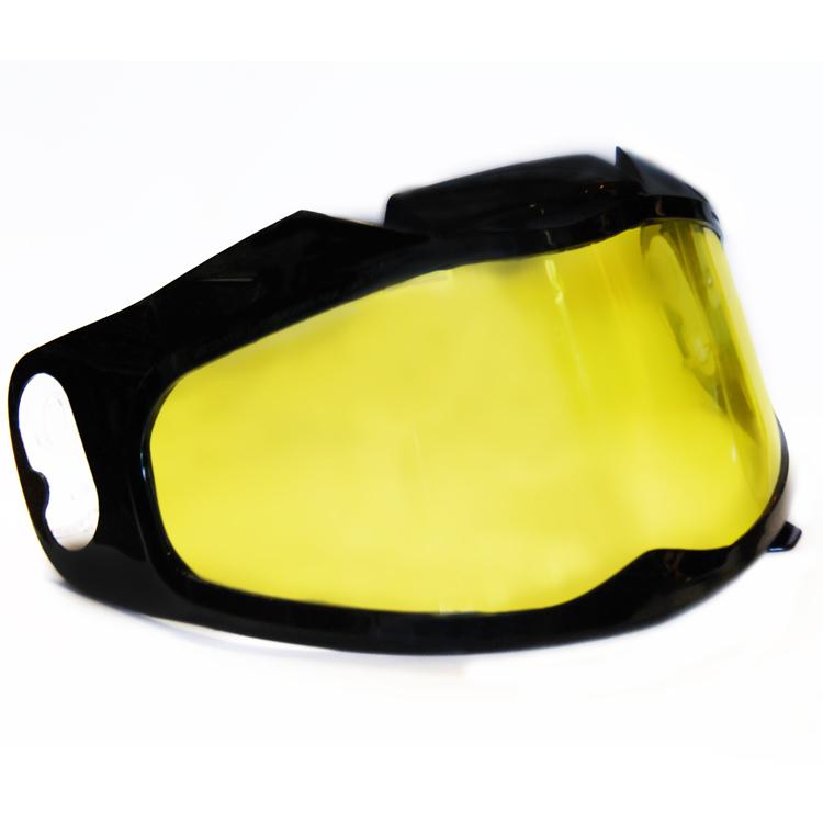 Визор для шлема IXS HX 220-226/335/350-353 снегоходный (желтый), арт: 10823 - Запчасти для шлемов