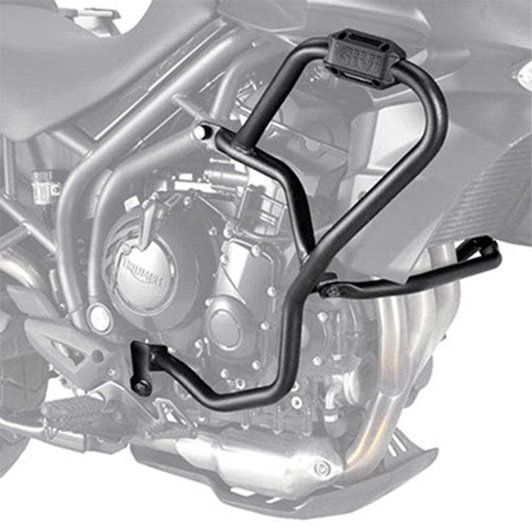 Дуги защитные Givi на Triumph Tiger 800 / 800 XC / 800 XR (2011 &gt  2017), арт: 10915 - Дуги и слайдеры