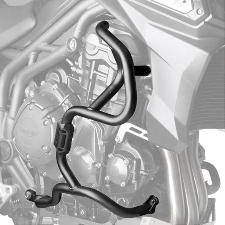 Дуги защитные Givi на Triumph Tiger Explorer 1200 (2012-2015), арт: 10918 - Дуги и слайдеры