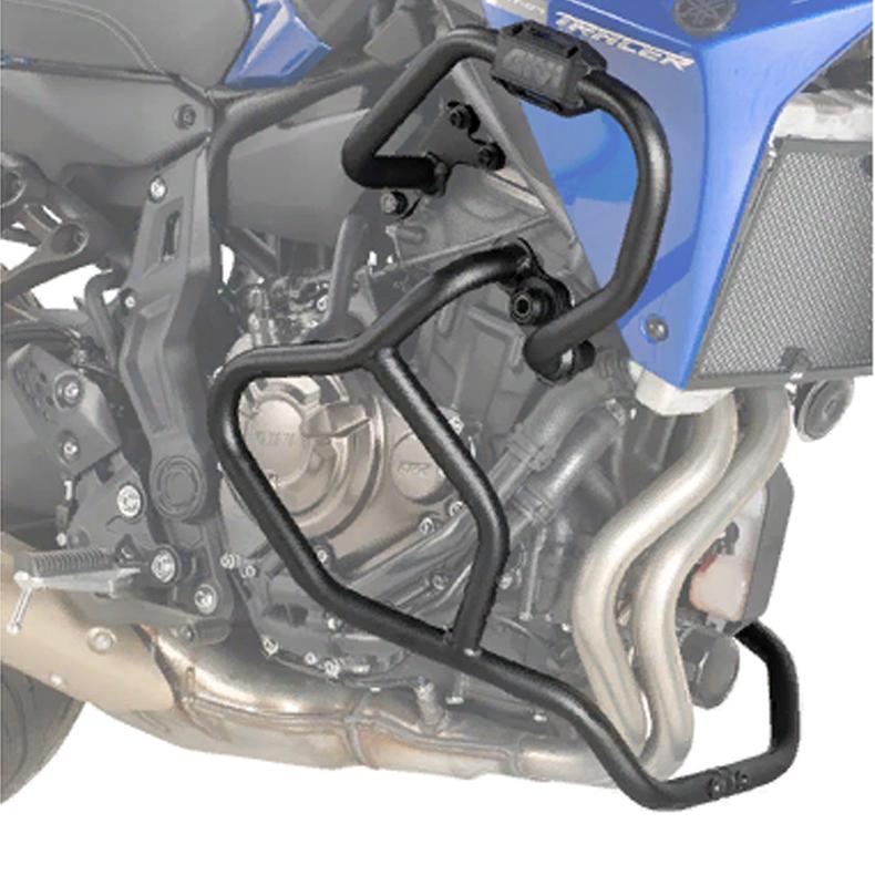 Дуги защитные Givi на Yamaha MT-07 Tracer (2016-2017) черный низ, арт: 10923 - Дуги и слайдеры