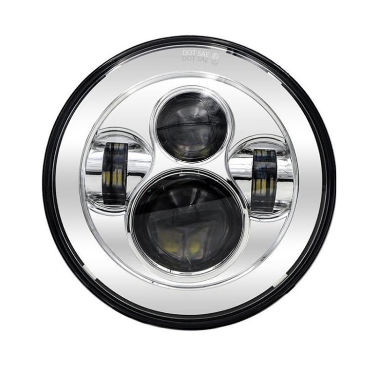 Модуль фары головного света LED 7'  Daymayker  хром, арт: 11150 - Лампы