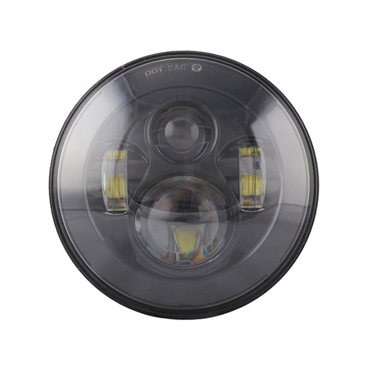 Модуль фары головного света LED 7'  Daymayker  черный, арт: 11151 - Лампы