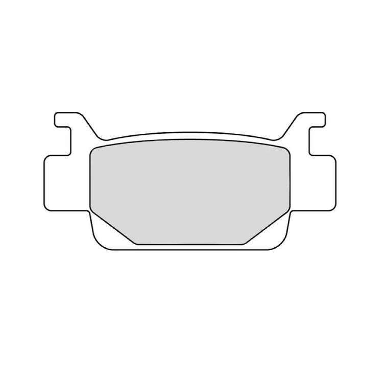 Тормозные колодки Ferodo FDB2195 Sinter Grip, арт: 11172 - Тормозные колодки