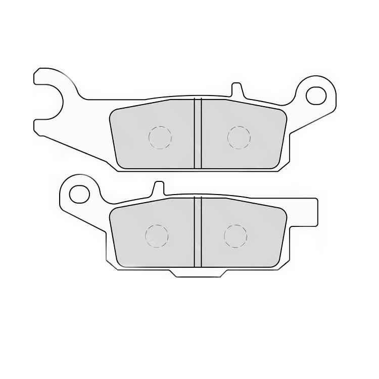 Тормозные колодки Ferodo FDB2232 Sinter Grip, арт: 11175 - Тормозные колодки