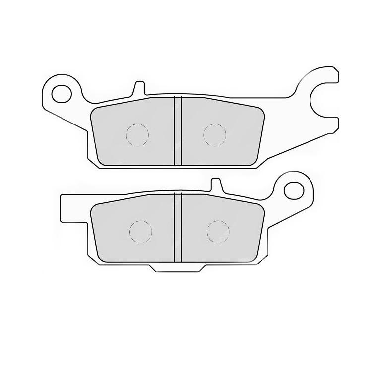 Тормозные колодки Ferodo FDB2233 Sinter Grip, арт: 11176 - Тормозные колодки