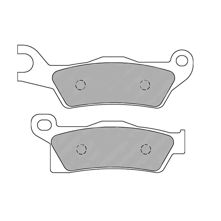 Тормозные колодки Ferodo FDB2274 Sinter Grip, арт: 11181 - Тормозные колодки