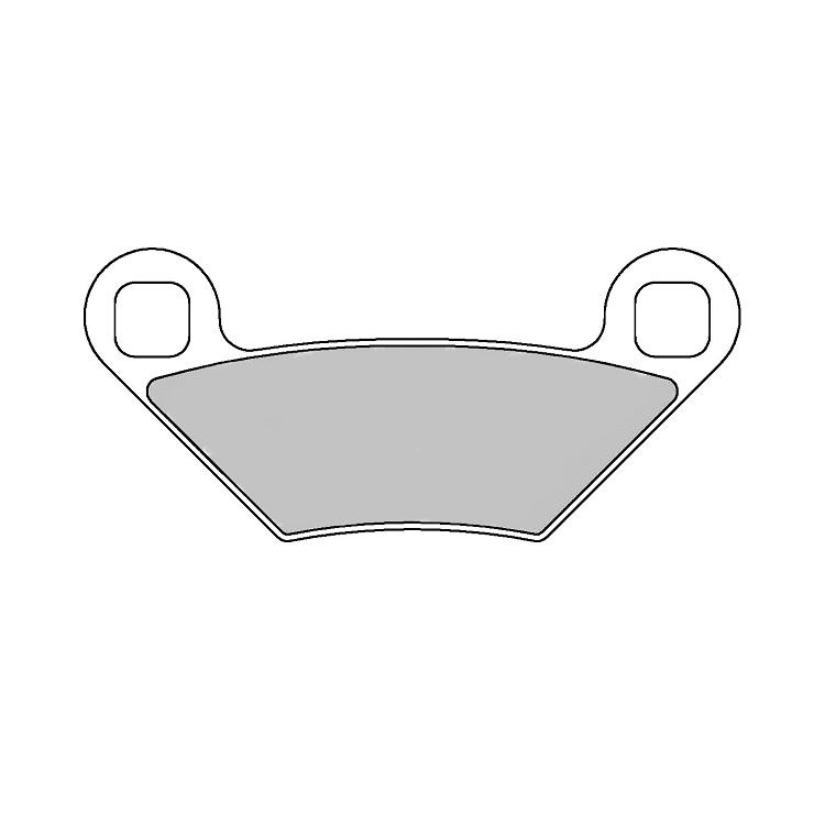 Тормозные колодки Ferodo FDB2276 Sinter Grip, арт: 11182 - Тормозные колодки