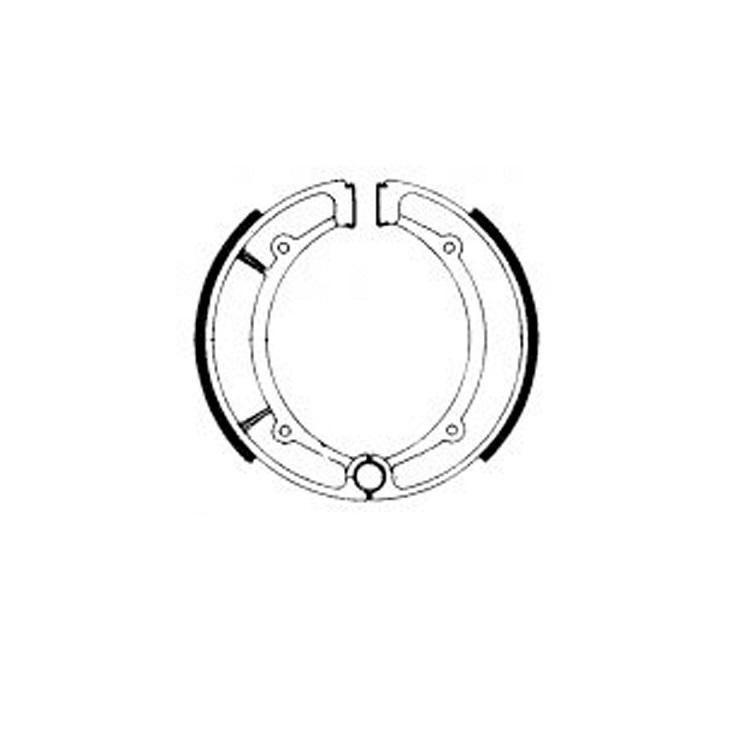 Тормозные колодки барабанные Ferodo FSB736, арт: 11184 - Тормозные колодки