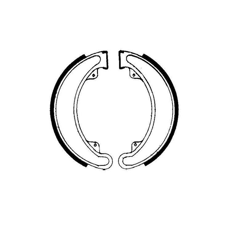 Тормозные колодки барабанные Ferodo FSB742, арт: 11185 - Тормозные колодки