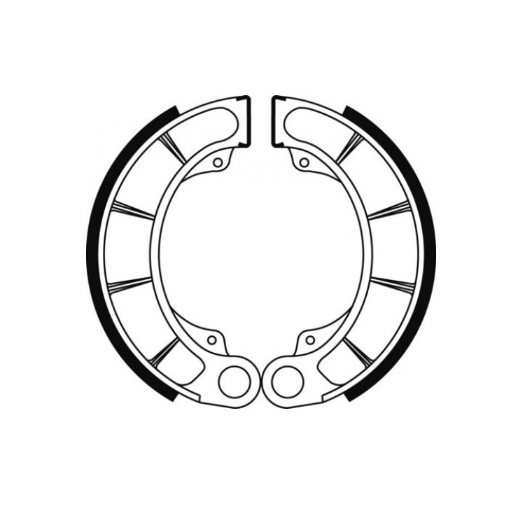 Тормозные колодки барабанные Ferodo FSB946, арт: 11189 - Тормозные колодки