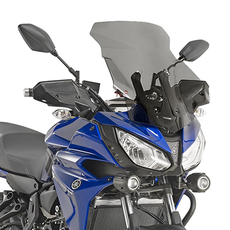 Стекло ветровое Yamaha MT-07 Tracer тонированное, арт: 11341 - Стекла в штатное место