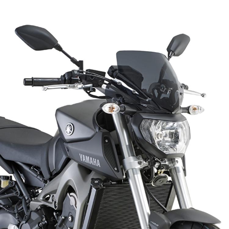 Стекло ветровое Yamaha MT-09, арт: 11342 - Стекла в штатное место