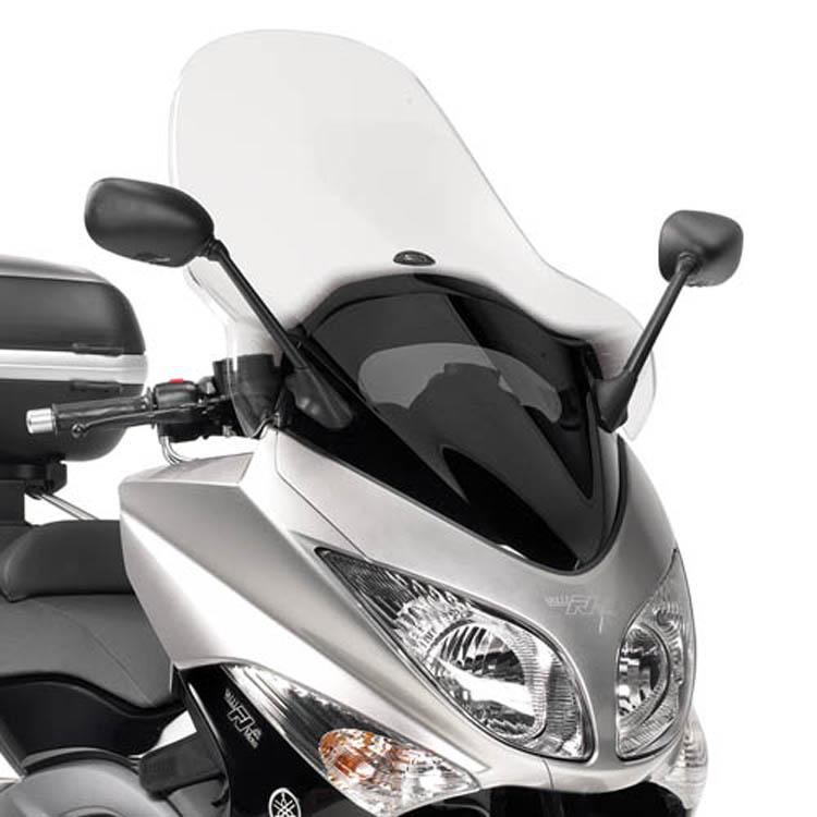 Стекло ветровое Yamaha T-MAX 500, арт: 11347 - Стекла в штатное место