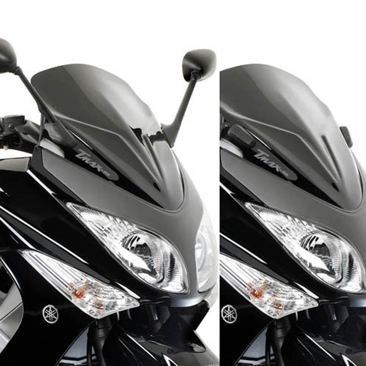 Стекло ветровое Yamaha T-MAX 500 59 x 45 см, арт: 11348 - Стекла в штатное место