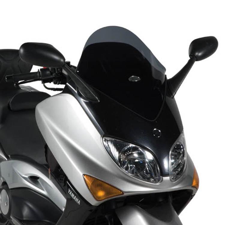 Стекло ветровое Yamaha T-MAX 500 черное, арт: 11350 - Стекла в штатное место