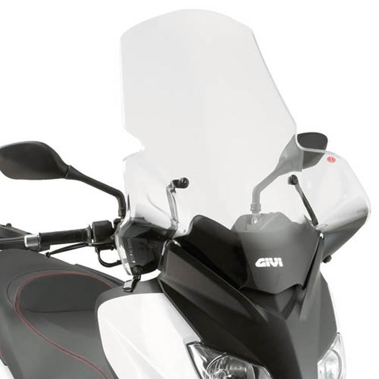Стекло ветровое Yamaha X-Max 446DT, арт: 11354 - Стекла в штатное место