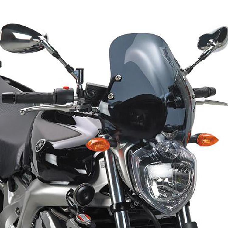 Крепление ветрового стекла140D на Yamaha FZ6/FZ6 600 Fazer (04 &gt  06), арт: 11422 - Крепления ветровых стекол