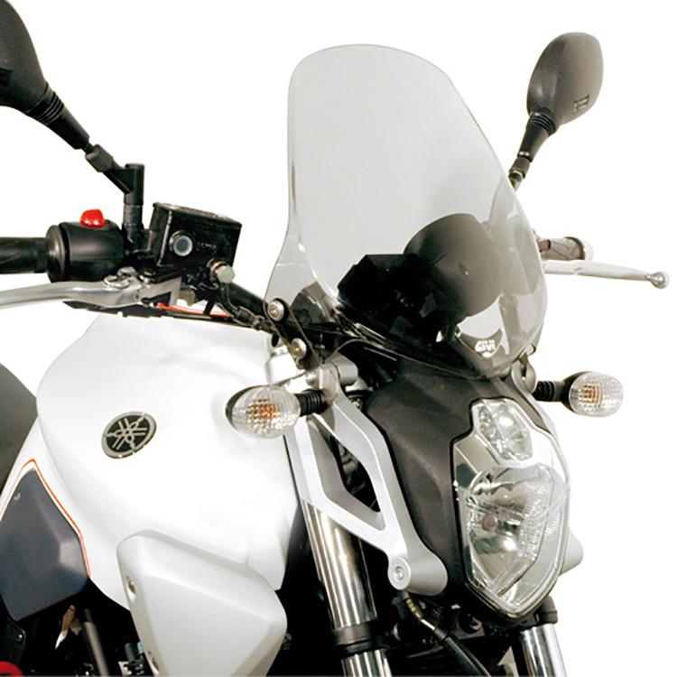 Крепление ветрового стекла 245A на Yamaha MT-03 660 (06 &gt  14), арт: 11425 - Крепления ветровых стекол